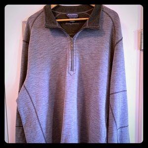 Tommy Bahama Flip Side Reversible design pullover